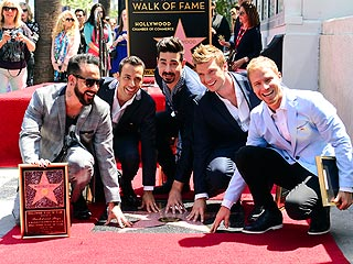 Backstreet Boys Get Star on Hollywood Walk of Fame | Backstreet Boy
