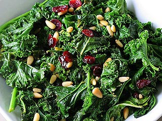Make Melissa Costello's Kale Salad with Miso Dressing