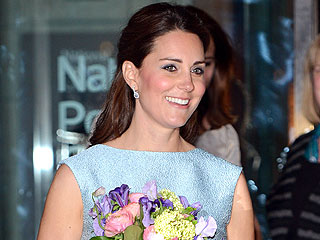 All About Kate&#39;s Baby Blue Maternity Dress | Kate Middleton