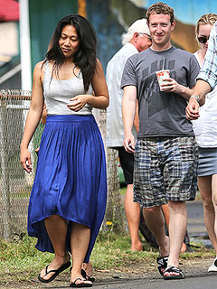 Aloha, Mark Zuckerberg! Facebook Mogul & Wife Priscilla Are Back in Hawaii | Mark Zuckerberg