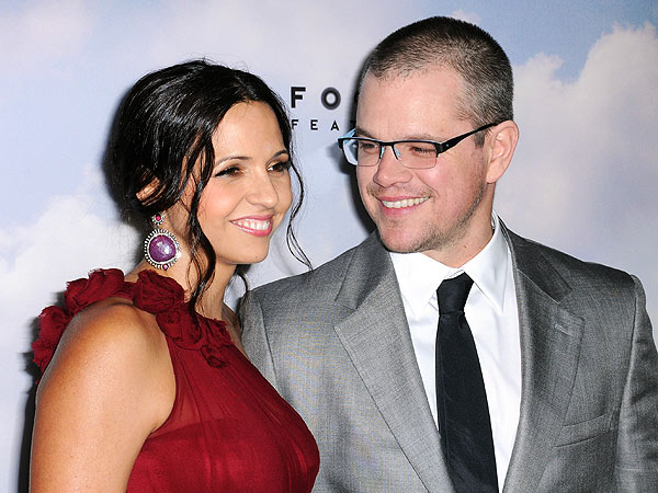 Matt Damon Renews Vows