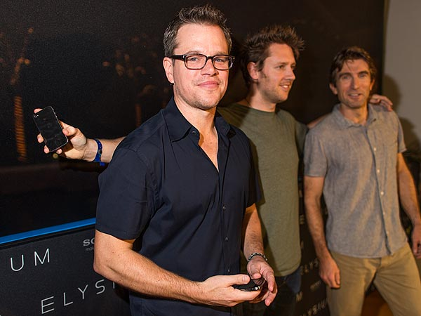 Matt Damon Promotes Elysium at Summer of Sony: Photo