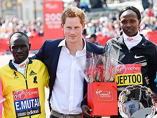 Prince Harry: Missing London Marathon Was &#39;Never an Option&#39; | Prince Harry
