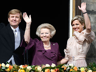 Queen Beatrix Abdicates Dutch Throne to Crown-Prince Willem-Alexander