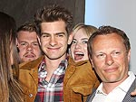PHOTO: Emma Stone Photobombs Boyfriend Andrew Garfield | Andrew Garfield, Emma Stone