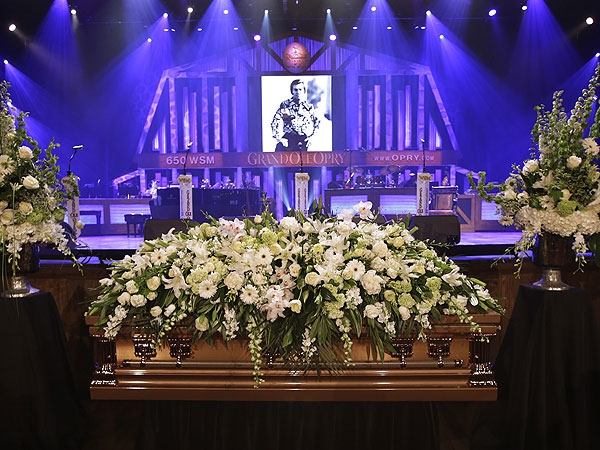 George Jones Funeral; Country Stars Pay Tribute