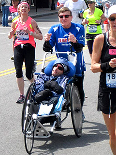 HEROES AMONG US: Father-Son Team Compete in Over 1,000 Races – with One in a Wheelchair