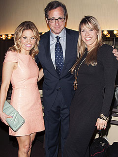 PHOTO: A Full House Reunion – Three Tanners Back Together! | Bob Saget, Candace Cameron, Jodie Sweetin