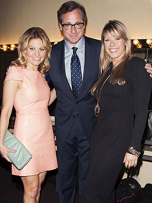 Jodie Sweetin, Bob Saget and Candace Cameron Bure Reunite in L.A.