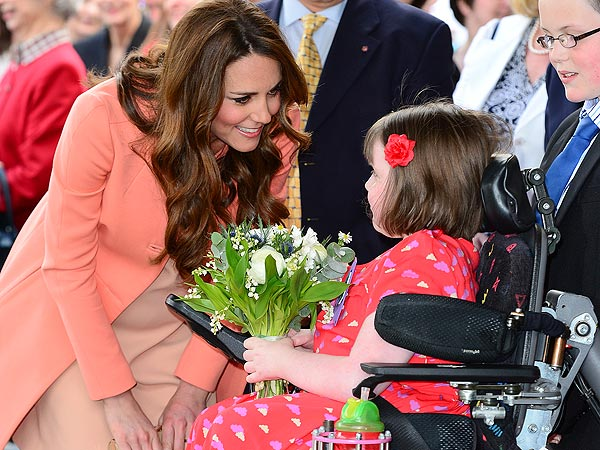 Kate Spends Second Wedding Anniversary at Children's Hospice