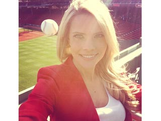 Whoa! Sports Reporter Takes Shocking Selfie