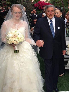 PHOTO: Tony Bennett Gives Away Daughter Antonia at Her Wedding | Tony Bennett