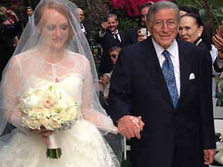 PHOTO: Tony Bennett Gives Away Daughter Antonia at Her Wedding | Tony Bennett
