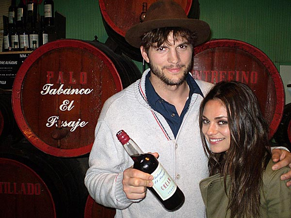 Mila Kunis and Ashton Kutcher 'Are Not Engaged'| Couples, Engagements, Ashton Kutcher, Mila Kunis