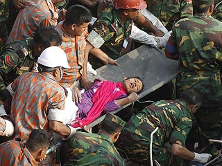 Miracle Rescue: Survivor Found in Bangladesh Factory Rubble