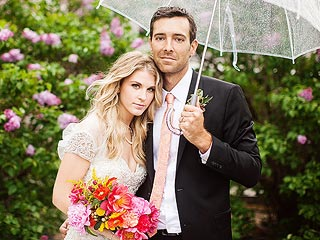 Country's Clara Henningsen Weds at Sunset