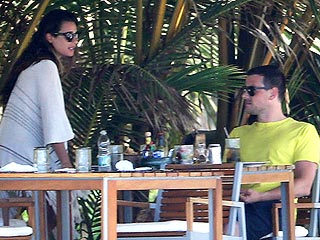 Lea & Cory Head to Mexico for Some R&R on the Beach | Cory Monteith, Lea Michele