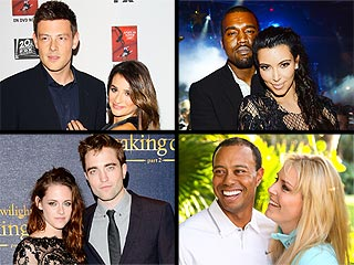 Kimye vs. Robsten: Which Couple Will Rule the Met Gala Tonight? | Kanye West, Kim Kardashian, Kristen Stewart, Lea Michele, Robert Pattinson, Tiger Woods