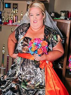 Honey Boo Boo&#39;s Mama June & Sugar Bear Exchange Vows, Celebrate with BBQ