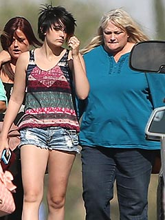PHOTO: Paris Jackson Bonds with Debbie Rowe at a Horse Farm | Debbie Rowe, Paris Jackson