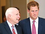 Prince Harry Heads to the White House | John McCain, Prince Harry