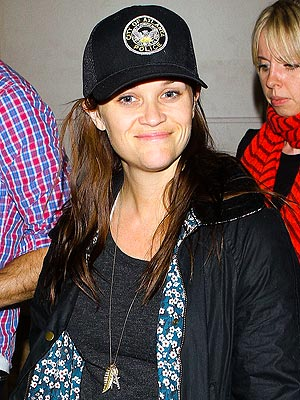Reese Witherspoon Sports Atlanta Police Department Hat Following Arrest