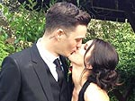 All About Shenae Grimes&#39;s Black Wedding Gown
