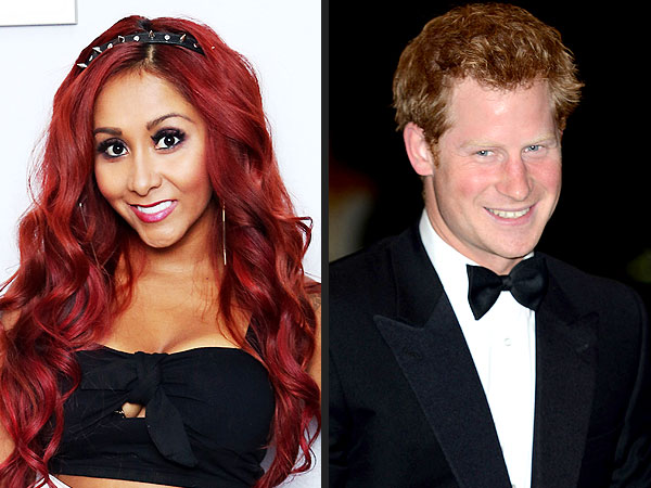 Snooki Shares Tips for Prince Harry's Trip to New Jersey