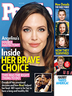 Angelina's Double Mastectomy: What to Know About the 'Faulty' Gene | Angelina Jolie