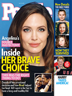 Angelina Jolie's Doctor Reveals New Details of Her Mastectomy Surgeries| Health, Bodywatch, Angelina Jolie, Brad Pitt