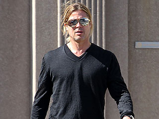 PHOTO: Brad Pitt Steps Out in L.A. After Angelina's Mastectomy Announcement | Brad Pitt