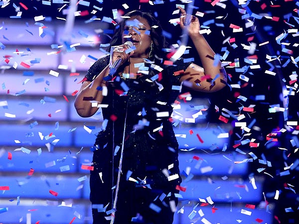American Idol Crowns Candice Glover Its Winner!| American Idol, Candice Glover, Keith Urban, Kree Harrison, Mariah Carey, Nicki Minaj, Randy Jackson