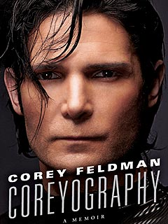 First Look: Corey Feldman Stares (Darkly) Right at You on Book Cover