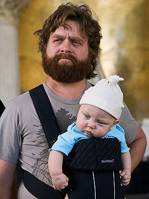 The Hangover Part III: The Baby's Back – and  All Grown Up| Babies, The Hangover, The Hangover Part III, Bradley Cooper, John Goodman, Zach Galifianakis