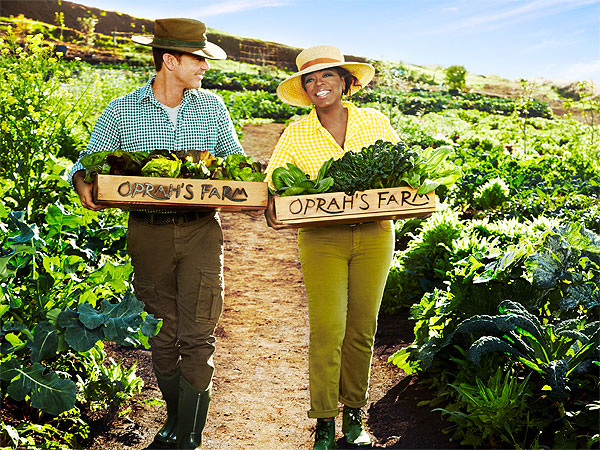 Oprah Winfrey Gives a Tour of Her Maui Farm| Celeb Real Estate, Oprah Winfrey