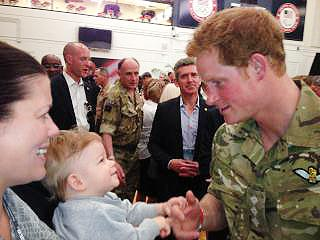 Prince Harry Practices Being an Uncle While Visiting Colorado| Colorado Springs, The British Royals, The Royals, Prince Harry