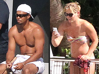 Tiger Woods & Lindsey Vonn Relax – in Bathing Suits – on a Yacht | Lindsey Vonn, Tiger Woods