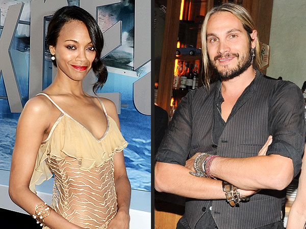 Zoë Saldana: Is She Dating Italian Artist Marco Perego?