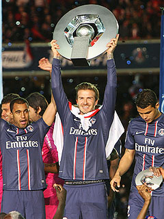 PHOTOS: David Beckham Feels the Love at His Final Game | David Beckham