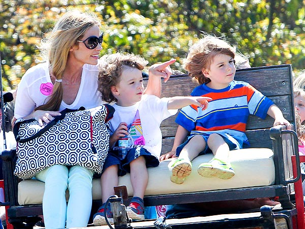Denise Richards: Why She's Caring for Charlie Sheen's Kids with Brooke Mueller| Health, Brooke Mueller, Charlie Sheen, Denise Richards