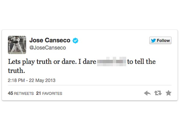 Jose Canseco Is a Suspect in a Sexual Assault Case: Police| Crime & Courts, True Crime, Jose Canseco