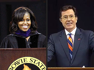 The Best of Celebrity Commencement Speeches! | Michelle Obama, Stephen Colbert