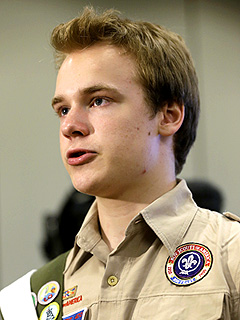 Openly Gay Boy Scout Has Mixed Feelings About Group's New Policy