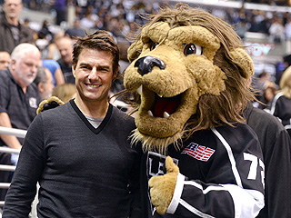 Ice, Ice Baby: Tom Cruise and Jason Bateman Cheer NHL Playoffs | Tom Cruise