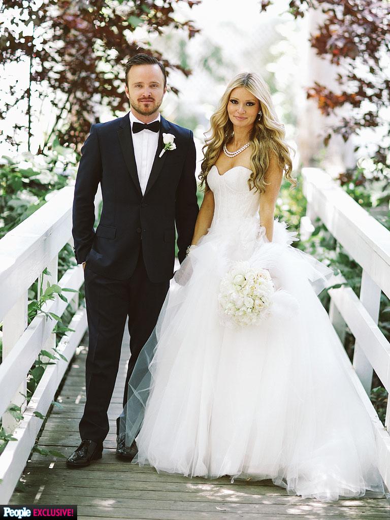 Aaron Paul Married Lauren Parsekian Inside Breaking Bad