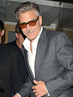 George Clooney Denies Report He Held Hands with an Ex Flame