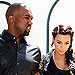 Kanye West Rushed to Kim Kardashian's Side for Delivery