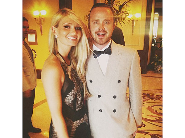 Aaron Paul Marries Lauren Parsekian| Couples, Wedding, Aaron Paul