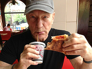 Is Pizza the Final Frontier for Sir Patrick Stewart? | Patrick Stewart