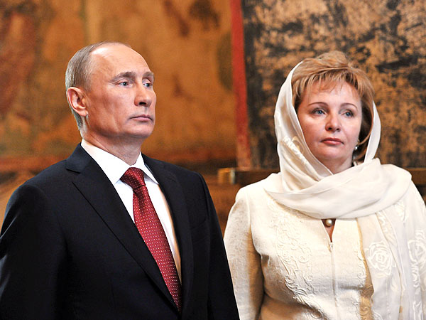 Vladimir Putin, Wife to Divorce After 30 Years of Marriage